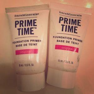 Bare minerals prime time primer makeup bundle